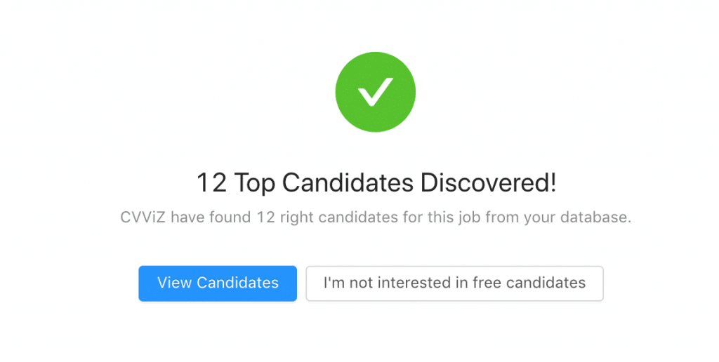 Discover Candidates In Your Database