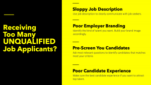 unqualified job applicants