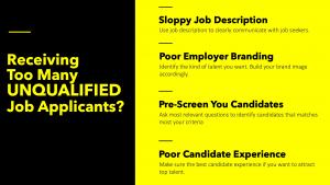 unqualified job applicants
