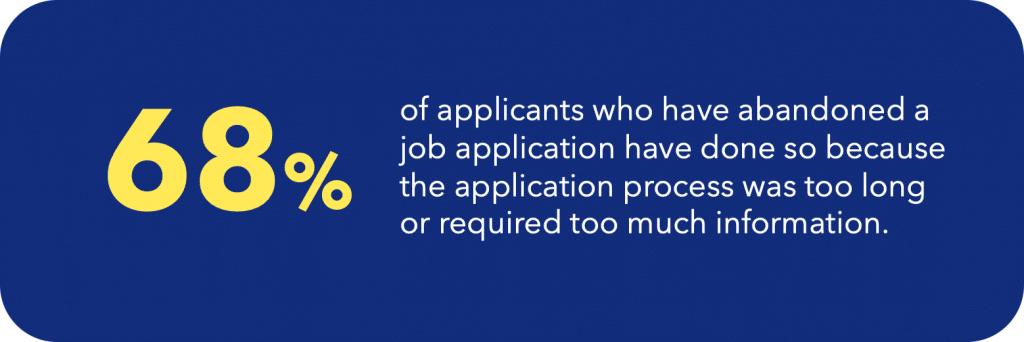 recruitment statistics 2019 job application