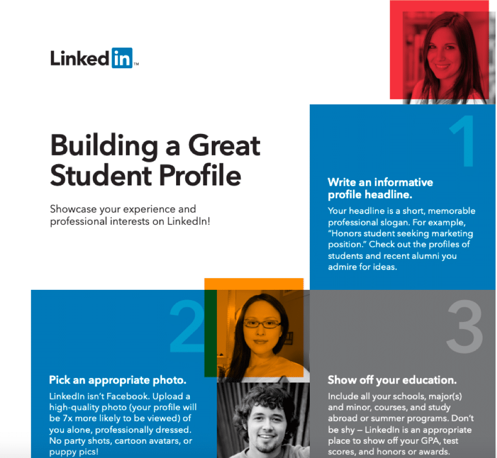 building great profile on LinkedIn